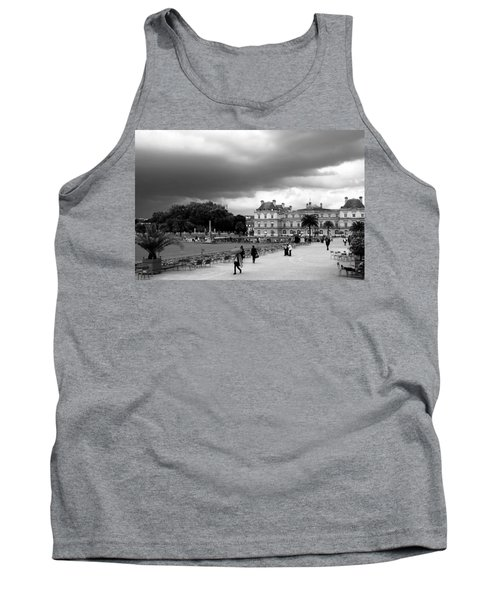 Luxembourg Gardens 2bw Tank Top