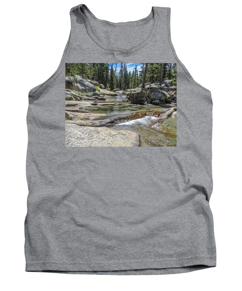 Lyell Fork Tuolomne River Yosemite National Park Tank Top
