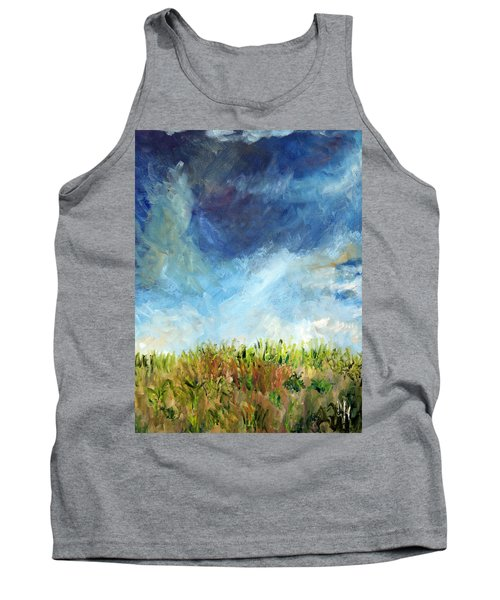 Lying In The Grass Tank Top