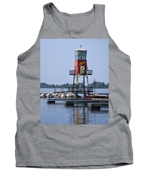 Lyman Harbor Lighthouse Tank Top