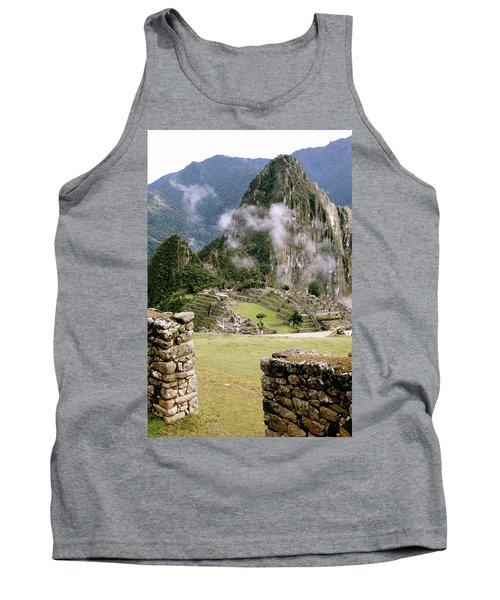 Machu Picchu In The Morning Light Tank Top