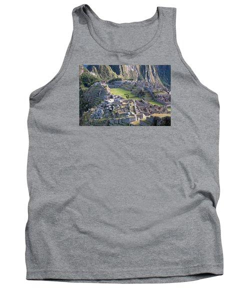 Machu Picchu Inca Ruins Tank Top