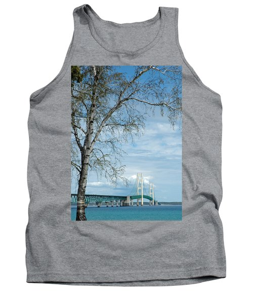 Mackinac Bridge Birch Tank Top