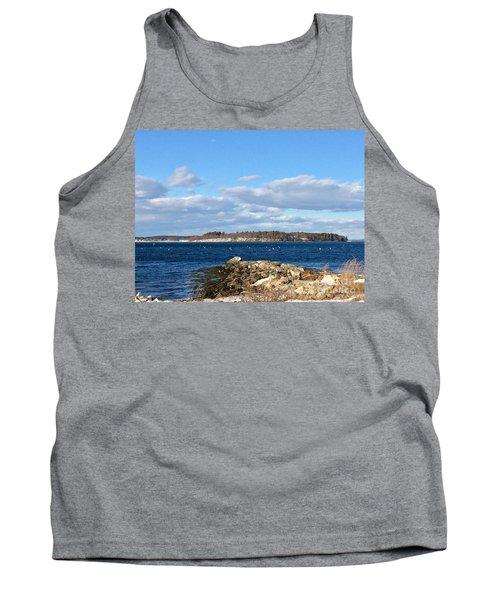 Mackworth Island Falmouth Maine Tank Top