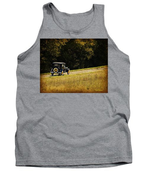 Madison County Back Roads-ford Tank Top by Kathy M Krause