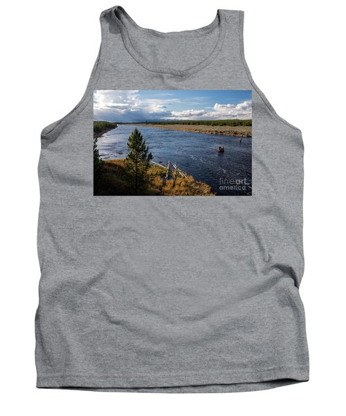Madison River In Yellowstone National Park Tank Top