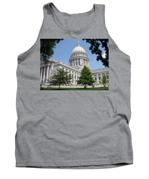 Madison Wi State Capitol Tank Top