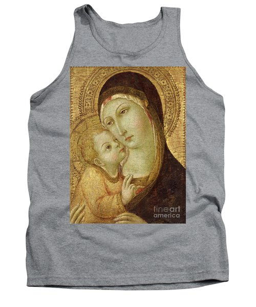 Madonna And Child Tank Top