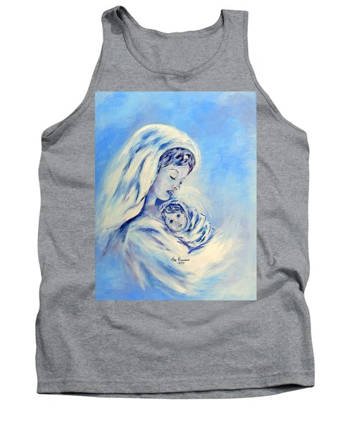 Madonna And Child By May Villeneuve Tank Top