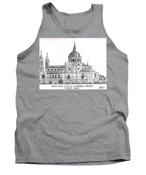 Madrid Cathedral Aimudena Tank Top