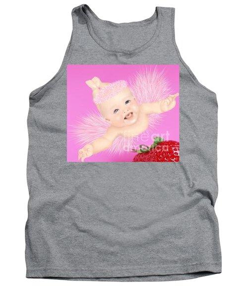 Magic Baby Face-pink Angle Tank Top