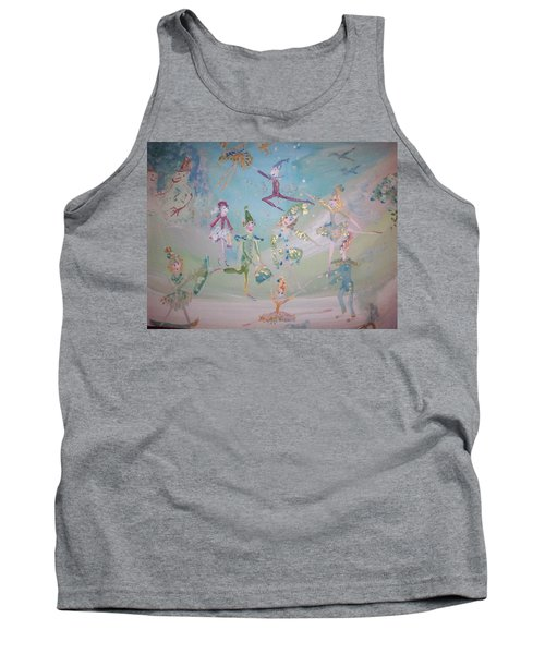 Magical Elf Dance Tank Top by Judith Desrosiers