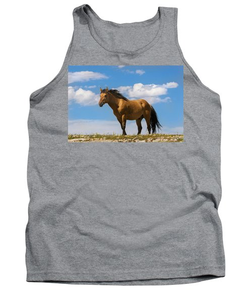 Magnificent Wild Horse Tank Top