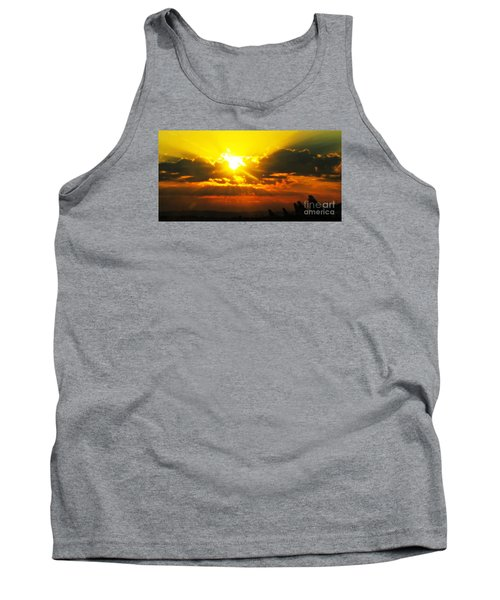 Mahlon Sweet Sunset Tank Top
