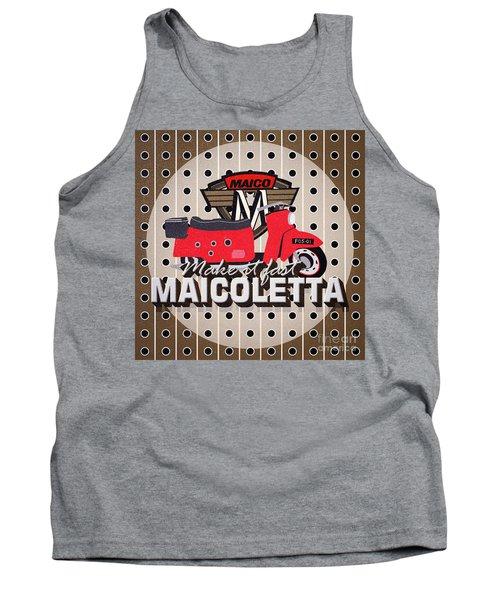 Maicoletta Scooter Advertising Tank Top