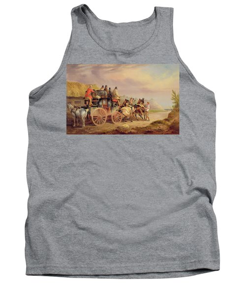 Mail Coaches On The Road - The 'quicksilver'  Tank Top