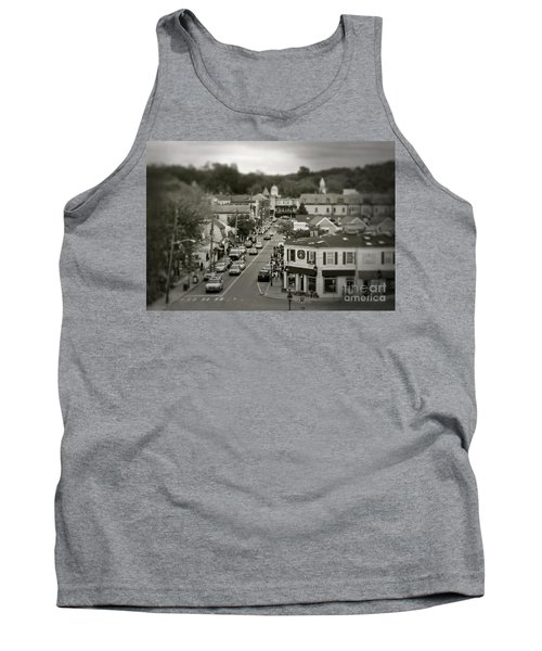 Main Street, Port Jefferson, Ny Tank Top