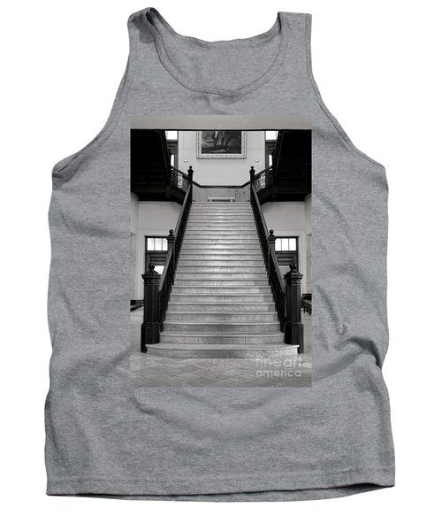 Maine Capitol West Wing Staircase Tank Top