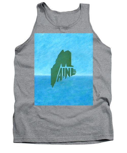 Maine Wordplay Tank Top