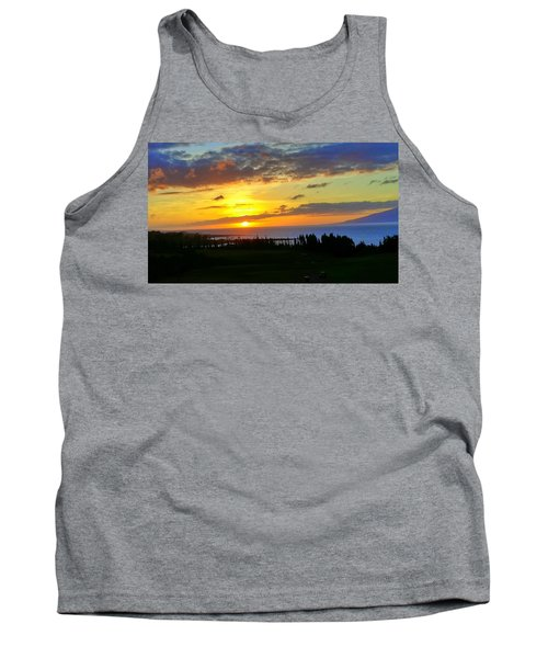 Majestic Maui Sunset Tank Top