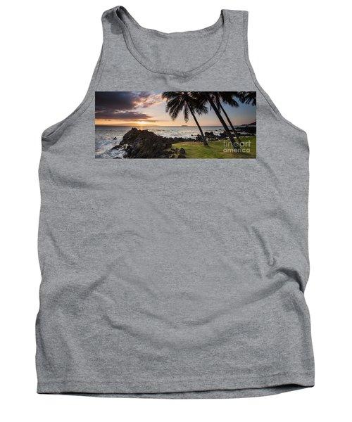 Makena Sunset Maui Hawaii Tank Top