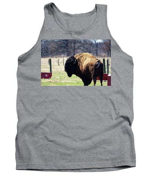 Male Bison Tank Top