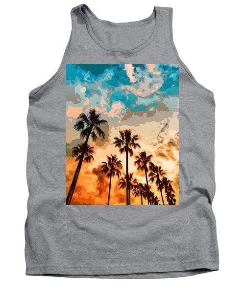 Malibu Beach - Heaven's Sky Tank Top