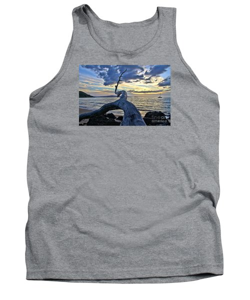 Maluaka Beach Sunset Tank Top