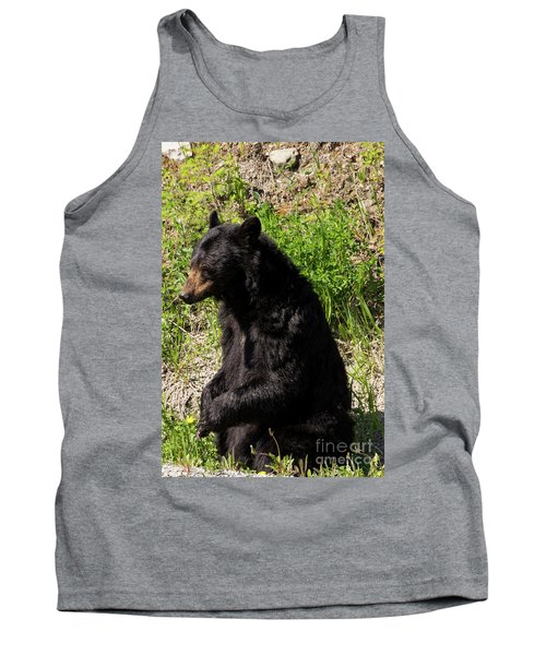 Mama Black Bear Tank Top