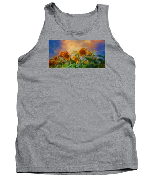 Man It's A Hot One Tank Top by Colleen Taylor