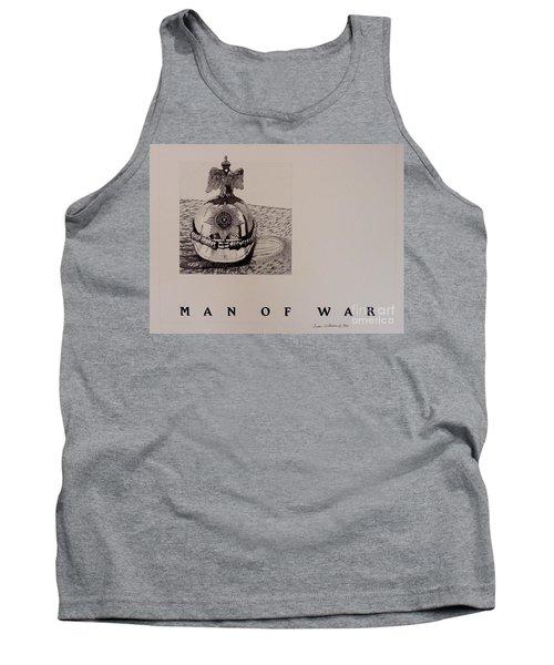 Man Of War Tank Top by Susan Williams