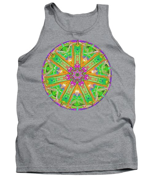 Mandala 12 27 2015 Kings And Priests Tank Top by Hidden Mountain
