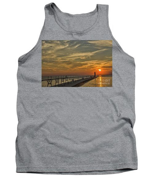 Manistee North Pierhead Lighthouse Tank Top