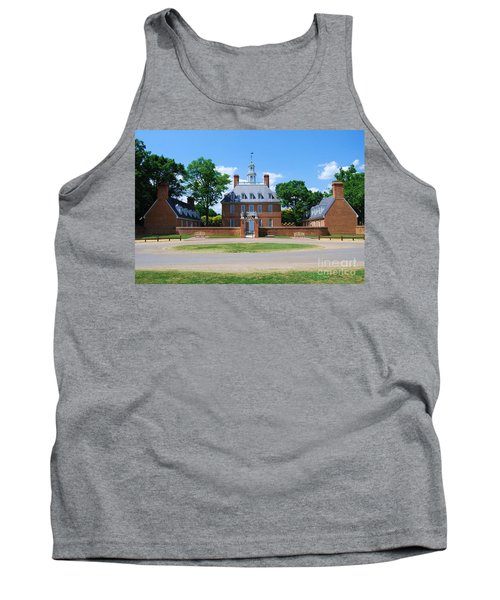 Tank Top featuring the photograph Mansion by Eric Liller