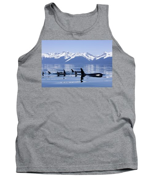 Many Orca Whales Tank Top