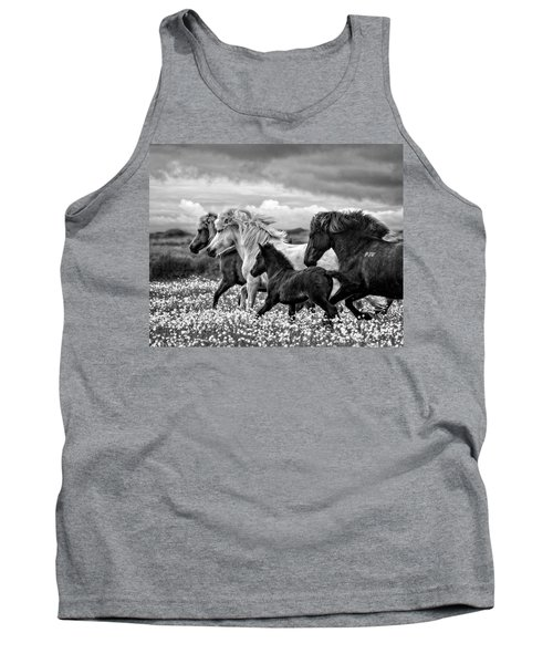 March Of The Mares Tank Top