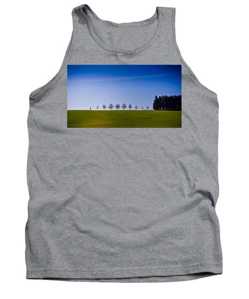 March To The Forest Tank Top