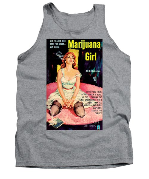 Marijuana Girl Tank Top by Santos