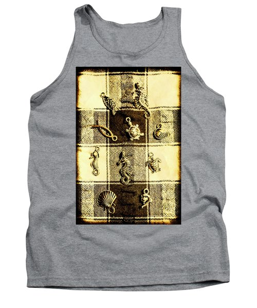 Marine Theme Tank Top