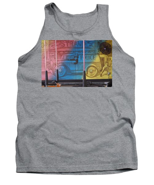 Tank Top featuring the photograph Mariner's Landing by Greg Graham