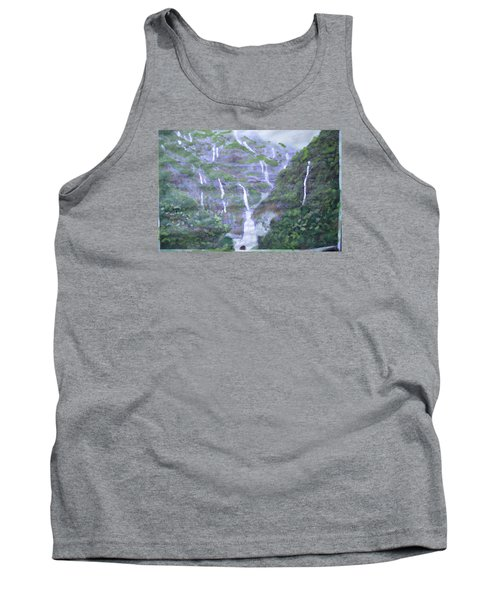 Tank Top featuring the painting Marleshwar by Vikram Singh