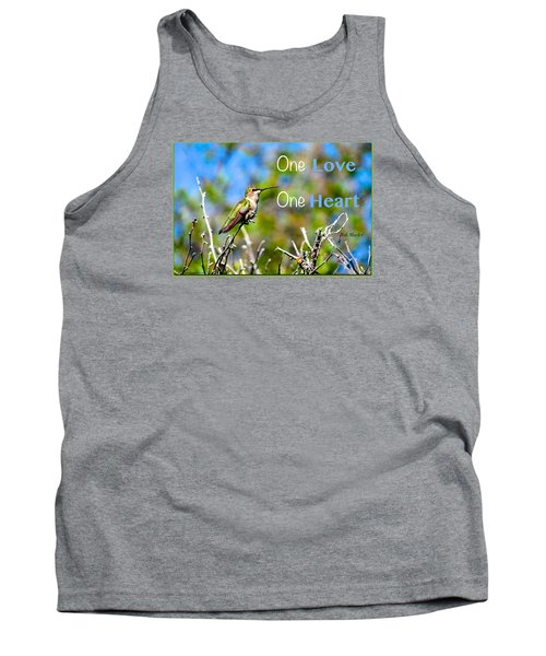 Tank Top featuring the photograph Marley Love  by David Norman