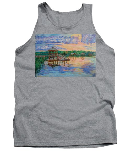 Marsh View At Pawleys Island Tank Top