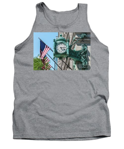 Marshall Field's Clock Tank Top