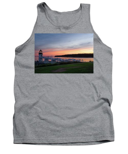 Marshall Point Lighthouse, Port Clyde, Maine -87444 Tank Top by John Bald