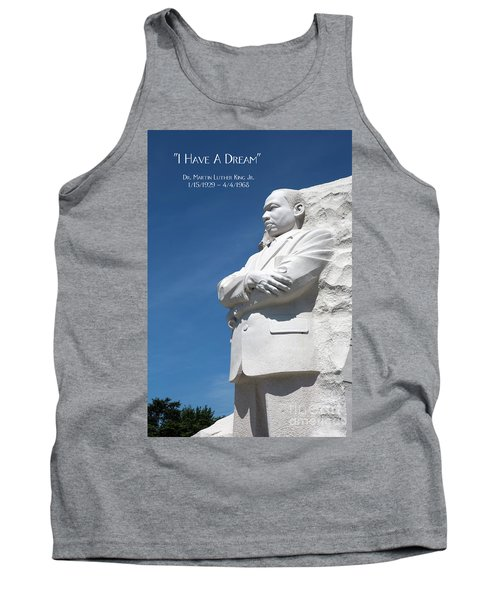 Martin Luther King Jr. Monument Tank Top
