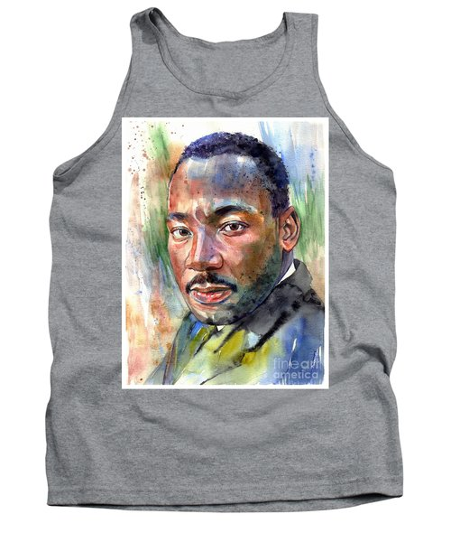 Martin Luther King Jr. Painting Tank Top
