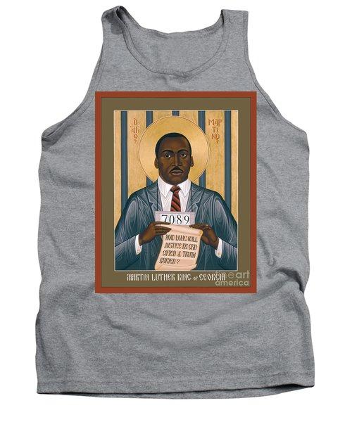 Martin Luther King Of Georgia  - Rlmlk Tank Top