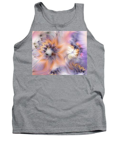 Tank Top featuring the digital art Marvel by Casey Kotas