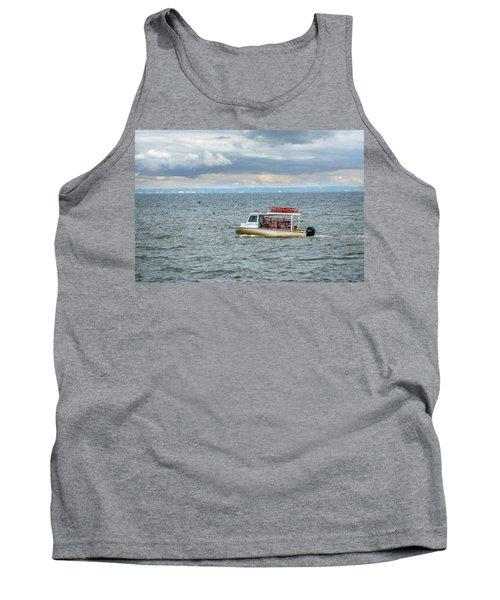 Maryland Crab Boat Fishing On The Chesapeake Bay Tank Top